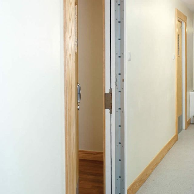 Removable Doorstop Frame Mounted