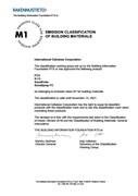 M1 Emmissions Classification - SonaSpray range