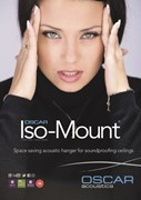 Oscar Iso-Mount - Space saving ceiling soundproofing