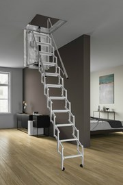 Escalmatic electric loft ladder drawing now available
