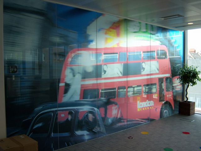 Digitally Printed Window Film
