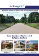 Resin Bound and Resin Bonded Surfacing Solutions 2017