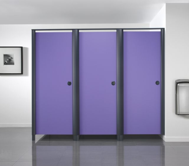 Aero Powder Coat HPL Panel Cubicle