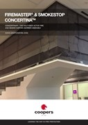 FireMaster® Concertina™  Active Fire Curtain Barrier
