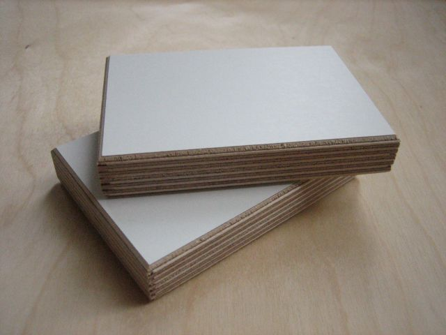 White Melamine Birch Plywood