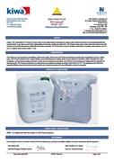Newton 107F BDA Certificate