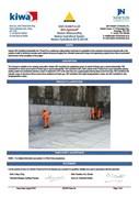Newton 403 HydroBond BDA Certificate