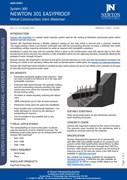 Newton 301 EasyProof Metal Construction Waterbar