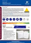 Newton 107F Cementitious Flexible Waterproofing Membrane