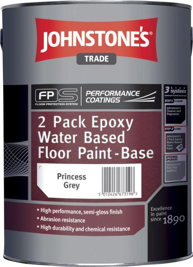 2 Pack Epoxy Water Based Floor Paint Performance Coatings