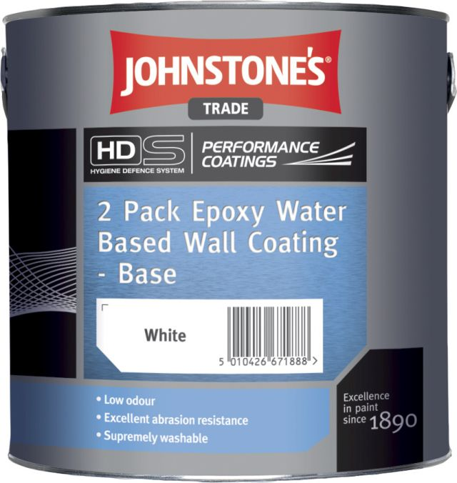2 Pack Epoxy Water Based Wall Coating Performance