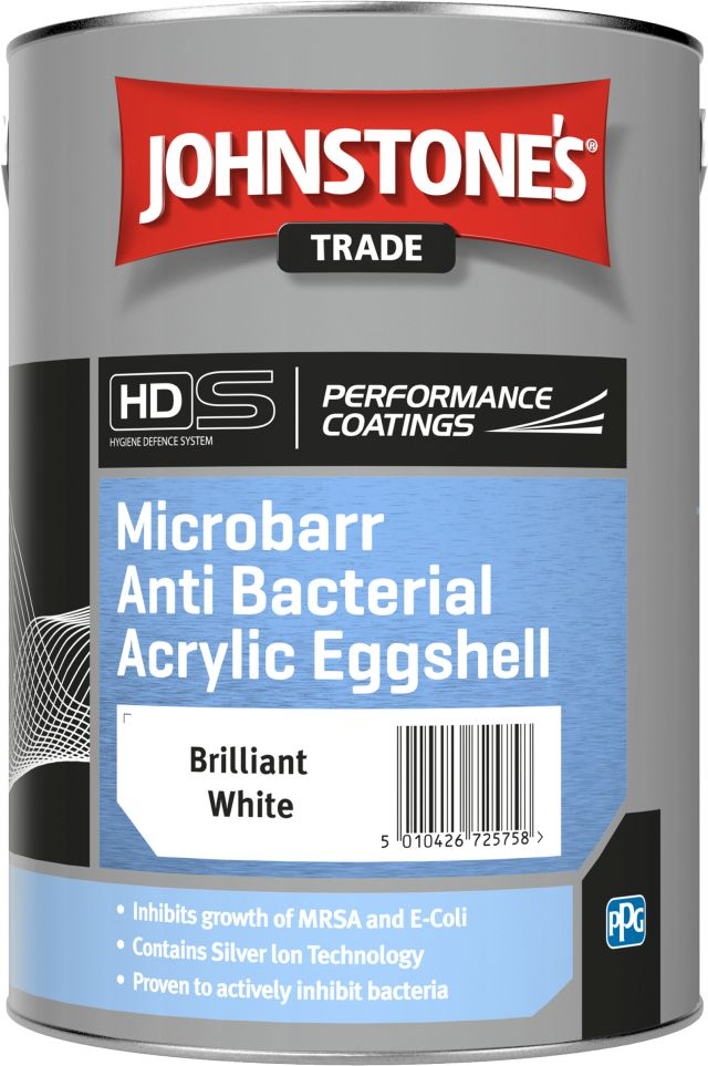 Microbarr Anti Bacterial Acrylic Eggshell (Ecological Solutions)