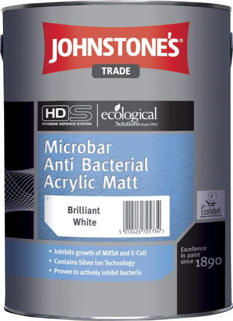 Microbarr Anti-Bacterial Acrylic Matt (Ecological Solutions)