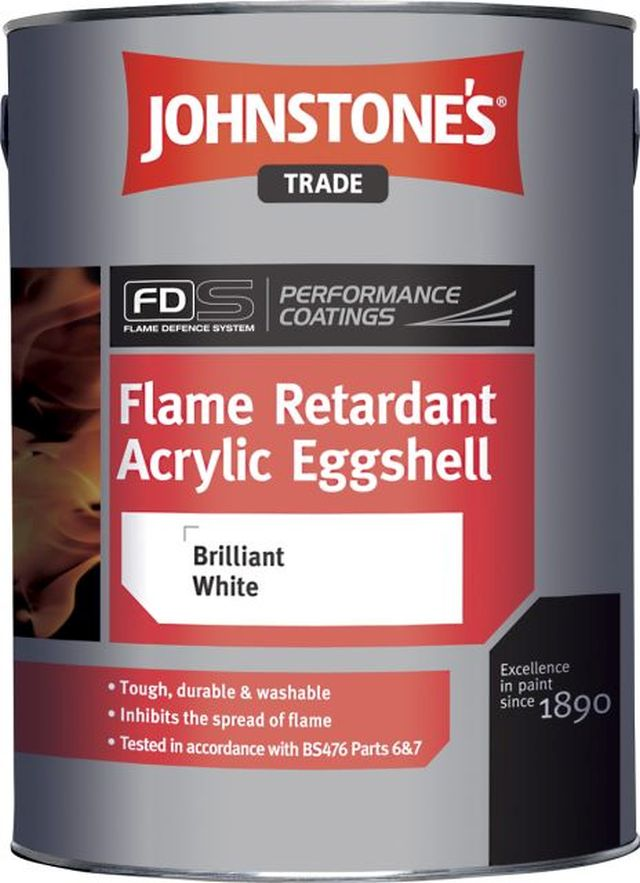 Flame Retardant Acrylic Eggshell (Performance Coatings)