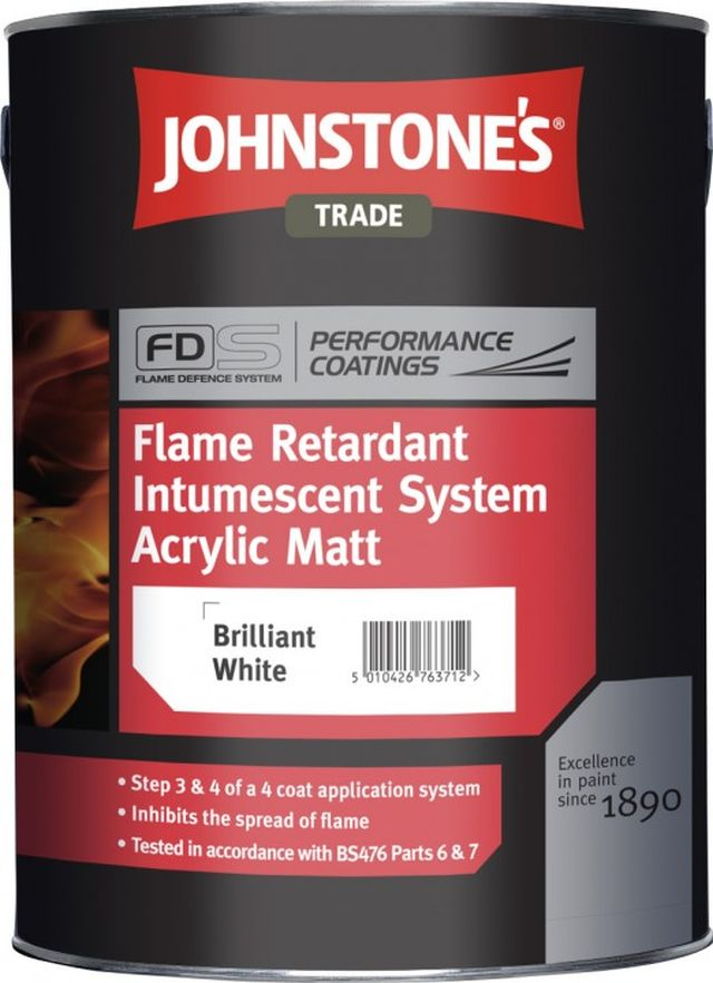 Flame Retardant Intumescent Upgrade Acrylic Matt (Performance Coatings)