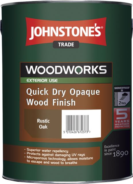 Quick Dry Opaque Wood Finish (Woodworks)