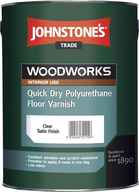 Quick Dry Polyurethane Floor Varnish (Woodworks)