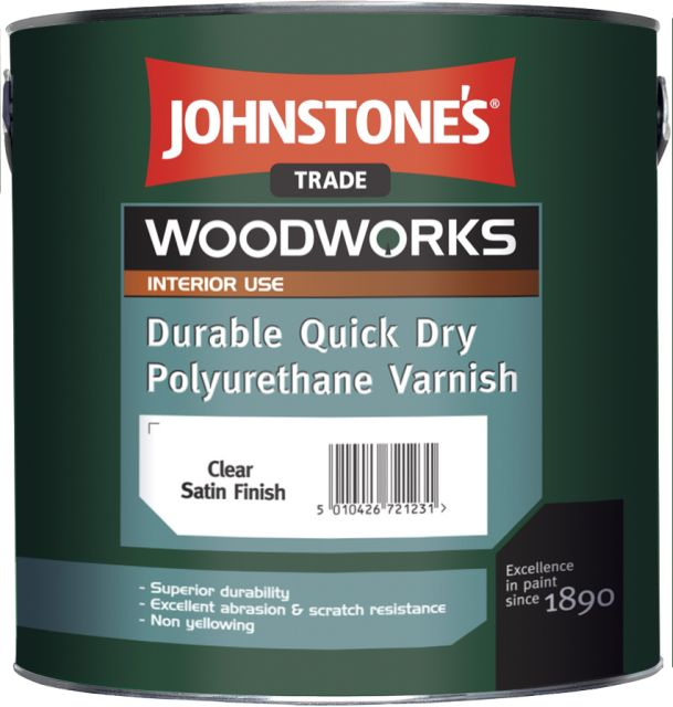 Quick Dry Polyurethane Varnish (Woodworks)