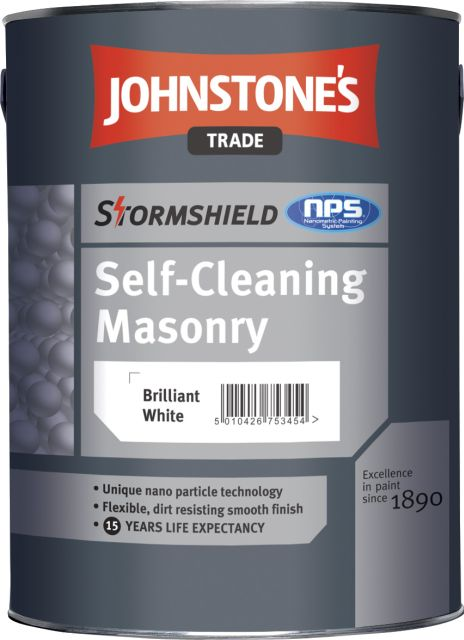 Self-Cleaning Masonry Paint (Stormshield)