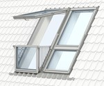 GDL manually operated, CABRIO® balcony system