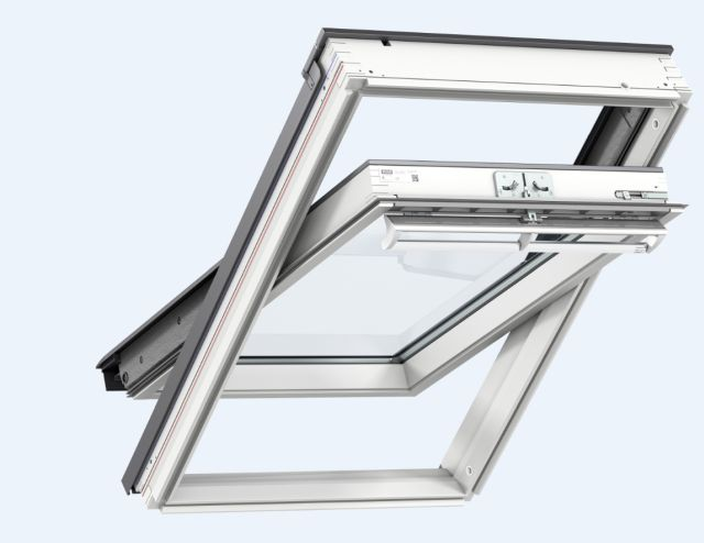 GGL centre-pivot roof window, manually operated