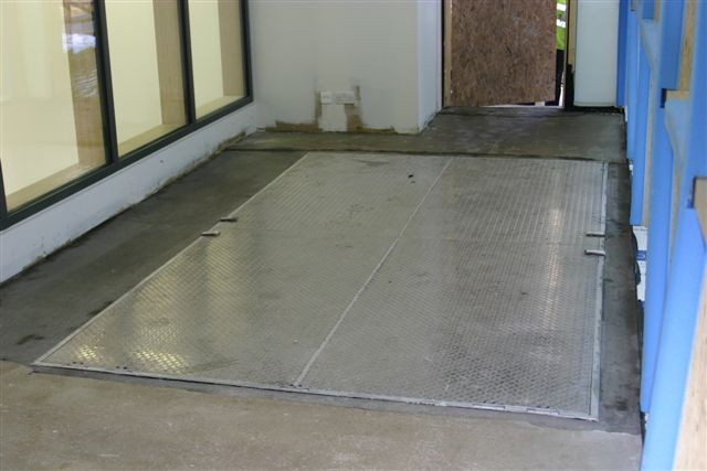 Pit and Floor Door Type J-AL/ JD-AL