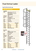 TYPE BL-WH Fixed Ladder with Safety Cage