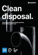 Clean Disposal - Geberit Drainage Brochure