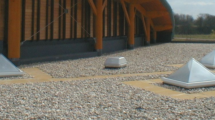 Protan Protected System - G Membrane, Inverted Roof Construction