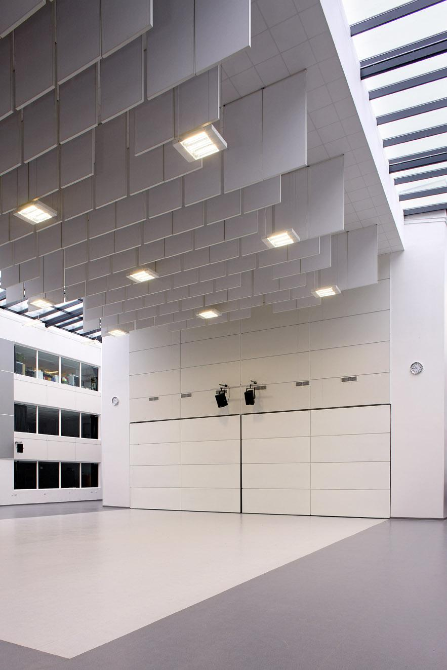 Knauf amf ceilings ltd forest hill school amf baffles dailygadgetfo Choice Image