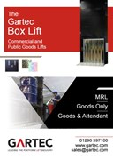 Gartec Box Goods Lift (High Capacity)