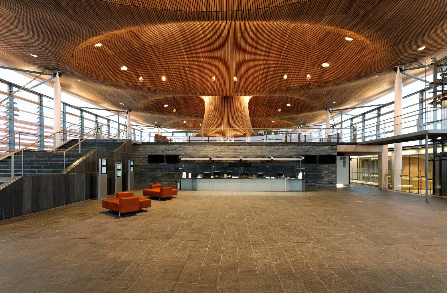 The Senedd, The National Assembly Building for Wales