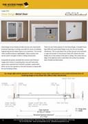 Value Range Metal Door Access Panel