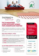 Gyvlon Thermio+ - Screed specifically for underfloor heating