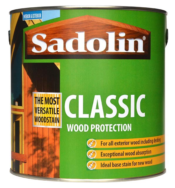 Classic Wood Protection Sadolin Product Of Crown Paints Ltd