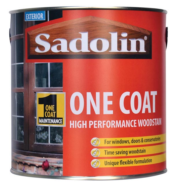 One coat woodstain sadolin product of crown paints ltd - Sadolin exterior wood paint image ...