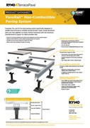 Datasheet- PaveRail Non-combustible Paving System
