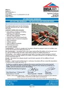 BBA Certificate - Grafter Pro Fortis Ultra Membrane - Cold Ventilated Roofs