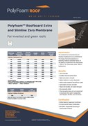 Polyfoam Roofboard and Slimline Zero Membrane