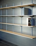 Active Health Adjustable Track Shelving