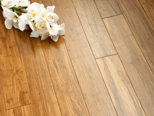 14 mm Bamboo Flooring Strand Woven – Carbonized