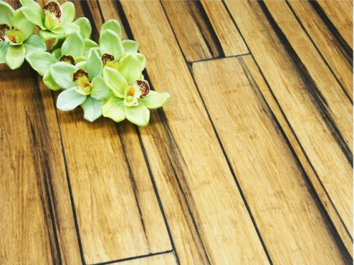 14 mm Bamboo Flooring Strand Woven - Rustic Natural