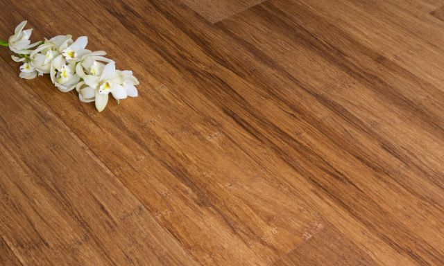 14 mm Engineered Bamboo Flooring Strand Woven - Carbonized