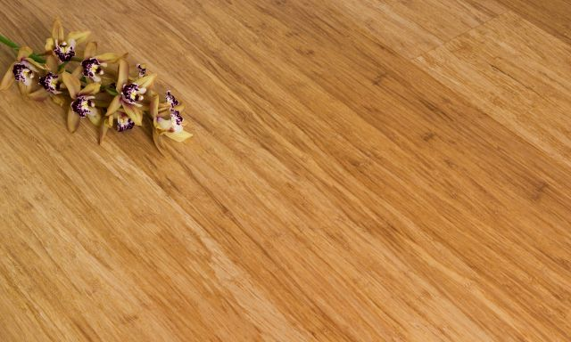 14 mm Engineered Bamboo Flooring Strand Woven - Natural