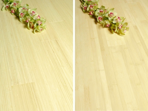 15 mm Bamboo Flooring - Solid Natural