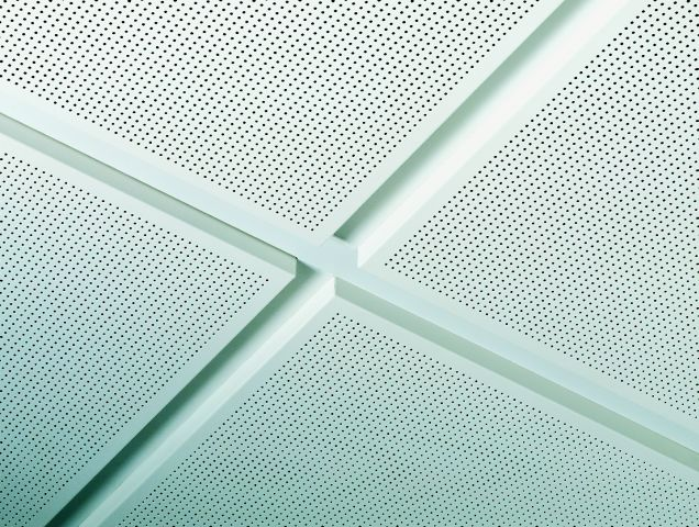 Tegular 8 16 Edge Metal Tile Armstrong Ceilings Ltd