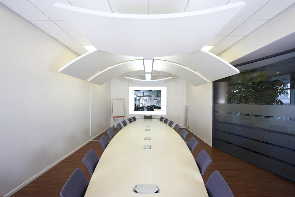 Armstrong Metal Curved Convex and Concave Canopy
