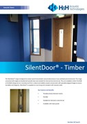 Acoustic SilentDoor Timber