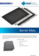 Acoustic Barrier Mats