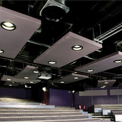 HR Acoustic ceiling absorbers / University of Wales